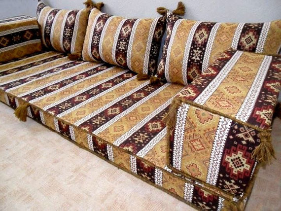 TURKISH KILIM SEATING, SOFA SET