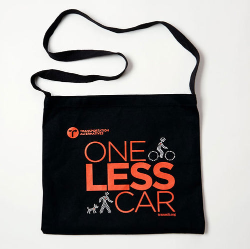 'One Less Car' Musette Bag