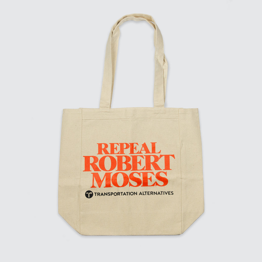 Repeal Robert Moses Transportation Alternatives tote bag