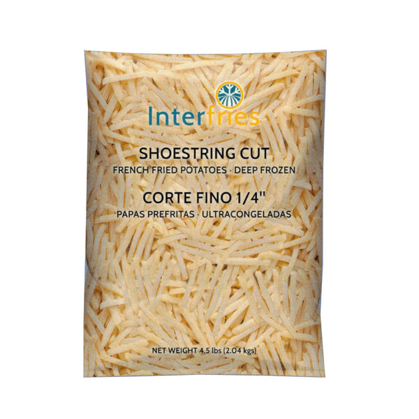 "French Fries 1/4"" Shoestring Cut / Papas Fritas 1/4"" Corte Fino (13381)"