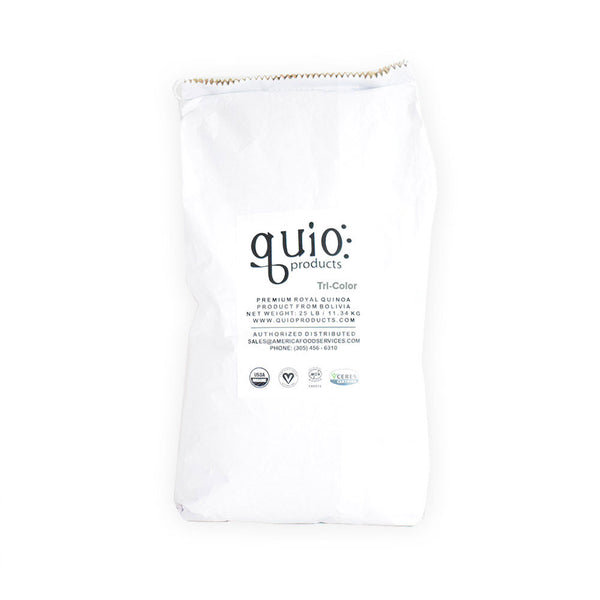 Tricolor Royal Premium Quinoa Grain 25 lb