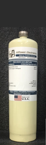 100 ppm Isobutylene/Bal air, CGA-600, 34L - Disposable cylinder