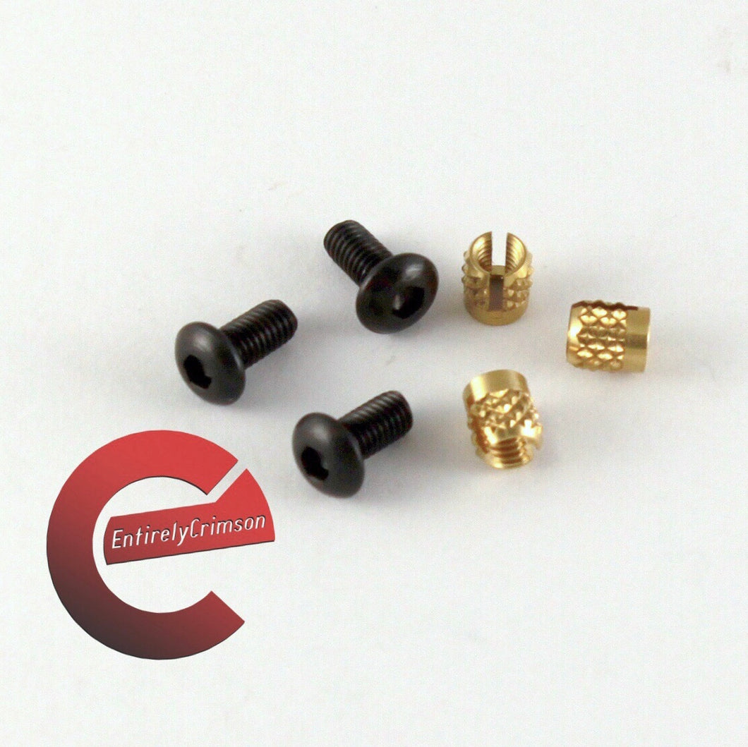 Trigger Guard Upgrade Screw Kit for AR style guards - EntirelyCrimson
