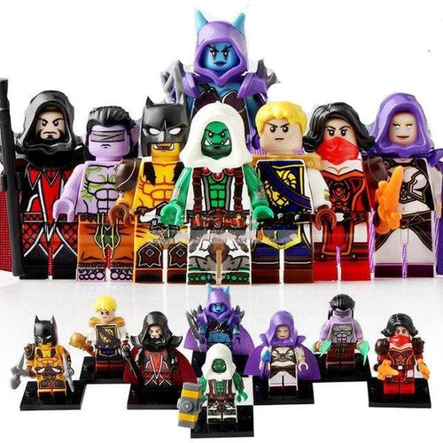 WoW - Set of 8 minifigures WoW
