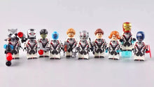 Load image into Gallery viewer, Set of 10 Superheroes custom figures in quantum suits