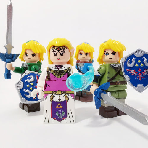 The Legend of Z - Set of minifigures The Legend of Z