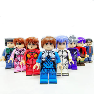 Human Robot custom brick figures