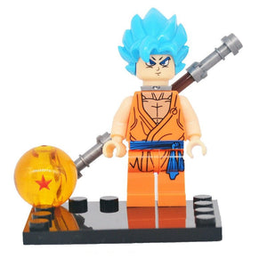 Dragon Ball Z /Super - 1 Dragon Ball Z/Super minifigure lego compatible to choose from