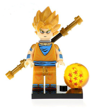 Load image into Gallery viewer, Dragon Ball Z /Super - 1 Dragon Ball Z/Super minifigure lego compatible to choose from
