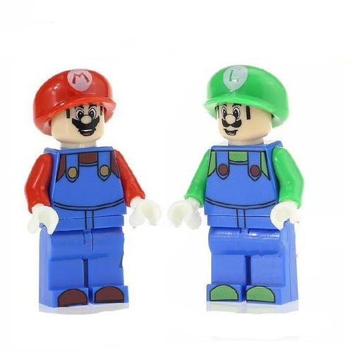 The Plumbers - Set of 2 Plumbers minifigures