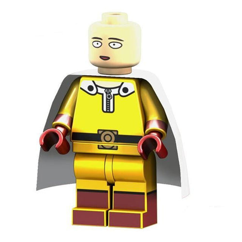 One Punch Man - 1  One Punch Man Saitama minifigure lego compatible