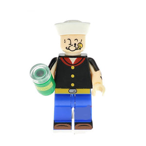 Spinash man  - 1 Spinach man minifigure