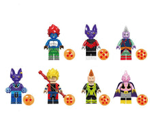 Load image into Gallery viewer, Dragon Ball Super - 1 Dragon Ball Super minifigure lego compatible to choose from