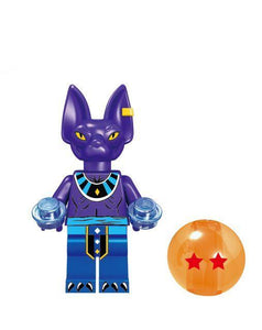 Dragon Ball Super - 1 Dragon Ball Super minifigure lego compatible to choose from