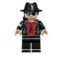 Load image into Gallery viewer, Michael Jackson - Set of 5 Michael Jackson minifigures lego compatible