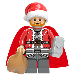 Super Heroes - Set of 6 Xmas Super Heroes minifigures