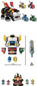 Legendary Defender custom minibrick figures  431 pieces to build