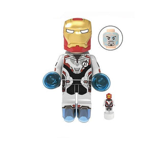 Endgame - Set of 10 minifigures Endgame Superheroes in quantum suits