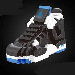Sneakers custom minibricks to build 450 pieces each