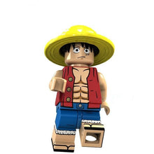 Load image into Gallery viewer, Set of 22 Pirate Warrior custom brick figures