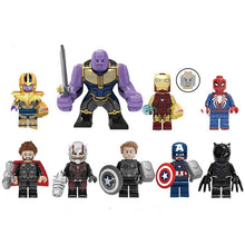 Load image into Gallery viewer, Set of 9 Endgame custom brick figures