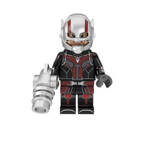Set of 9 Superheroes custom brick figures