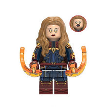 Load image into Gallery viewer, Set of 8 Superheroes custom brick figures