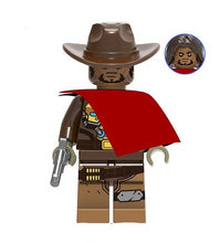 Load image into Gallery viewer, Set of 8 Shootgame custom brick figures