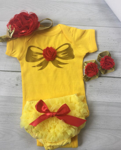 Beauty and the Beast Belle Baby Costume