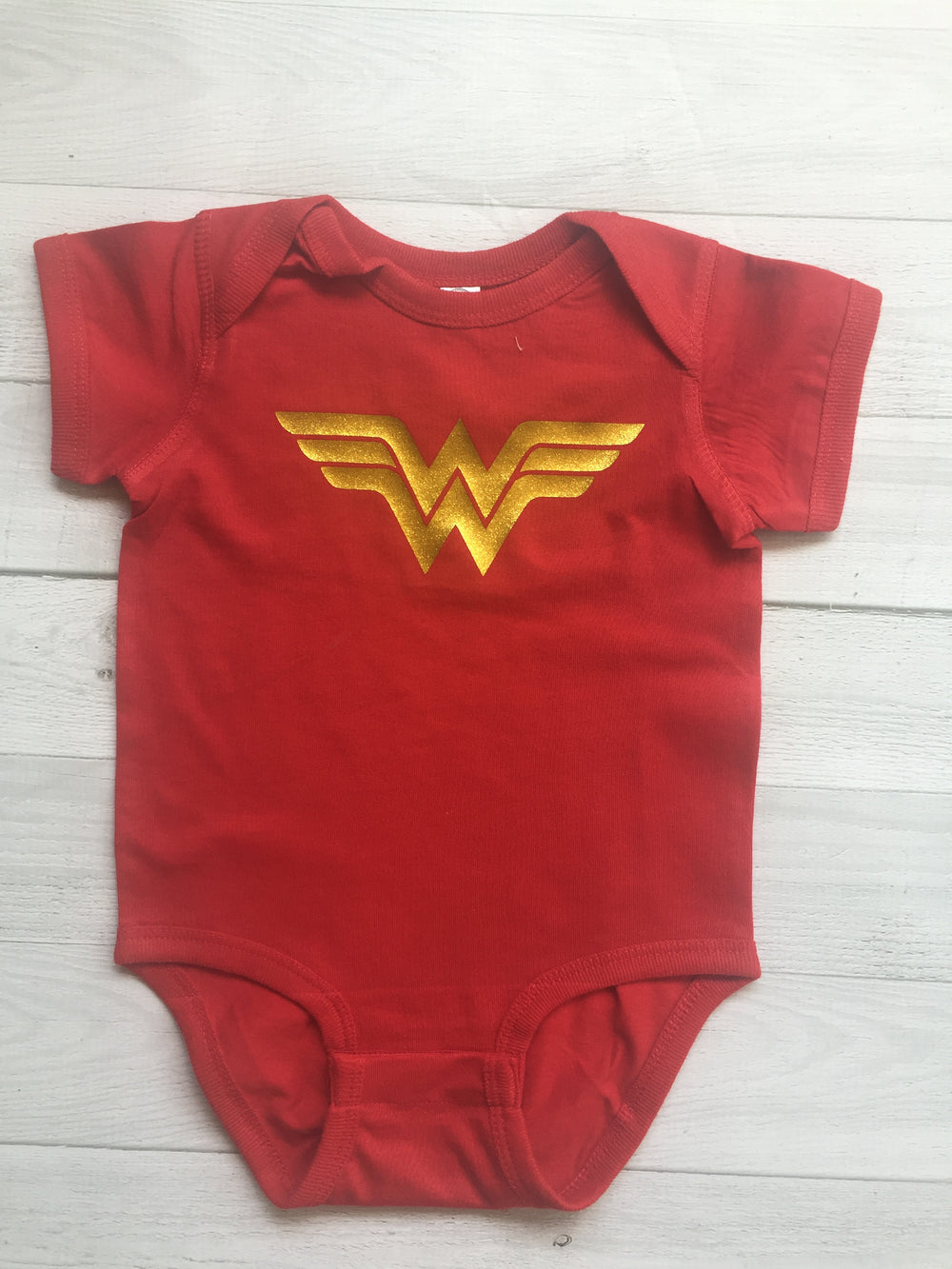 Wonder Woman inspired Bodysuit - beecutebaby