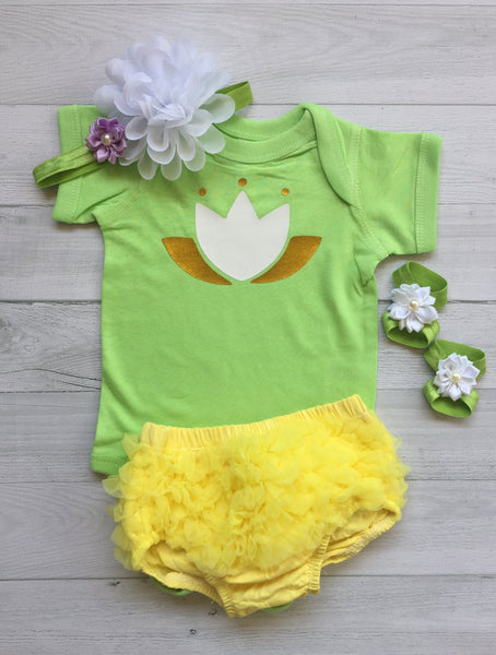 Tiana Princess inspirate Baby Costume - beecutebaby