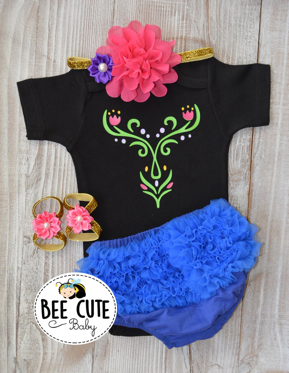 Princess Anna Baby Costume - beecutebaby