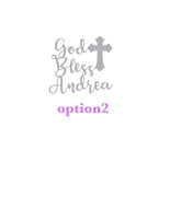 3 pcs Set Personalized Baptism Outfit After Party. - beecutebaby