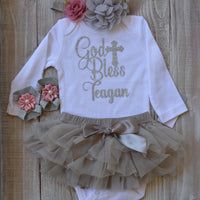 Personalized Baptism Outfit After Party. - beecutebaby