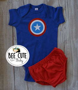 Captian America Costume - beecutebaby