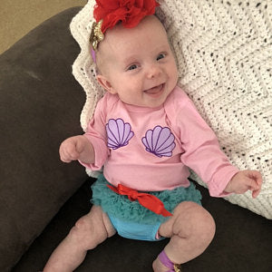 Mermaid Baby Costume - beecutebaby