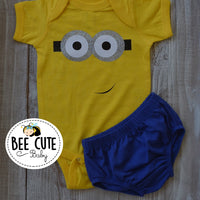 Baby Boy Inspired Minion  Costume - beecutebaby