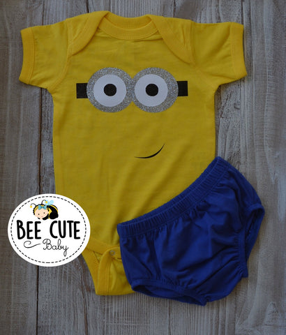 Baby Boy Inspired Minion  Costume
