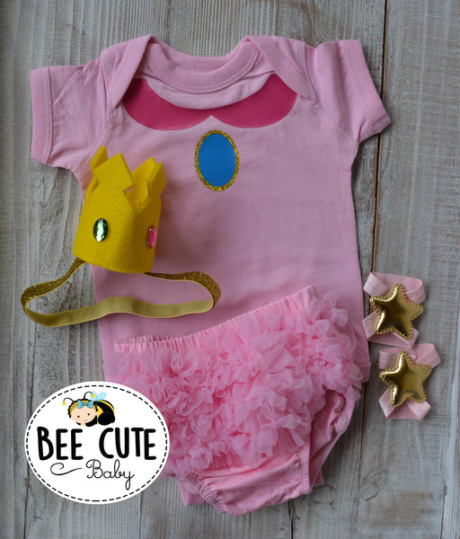 Peach Princess baby  Costume