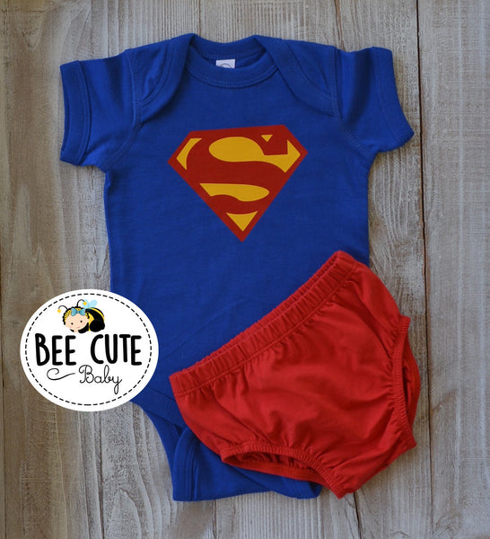 Superman Baby Costume - beecutebaby