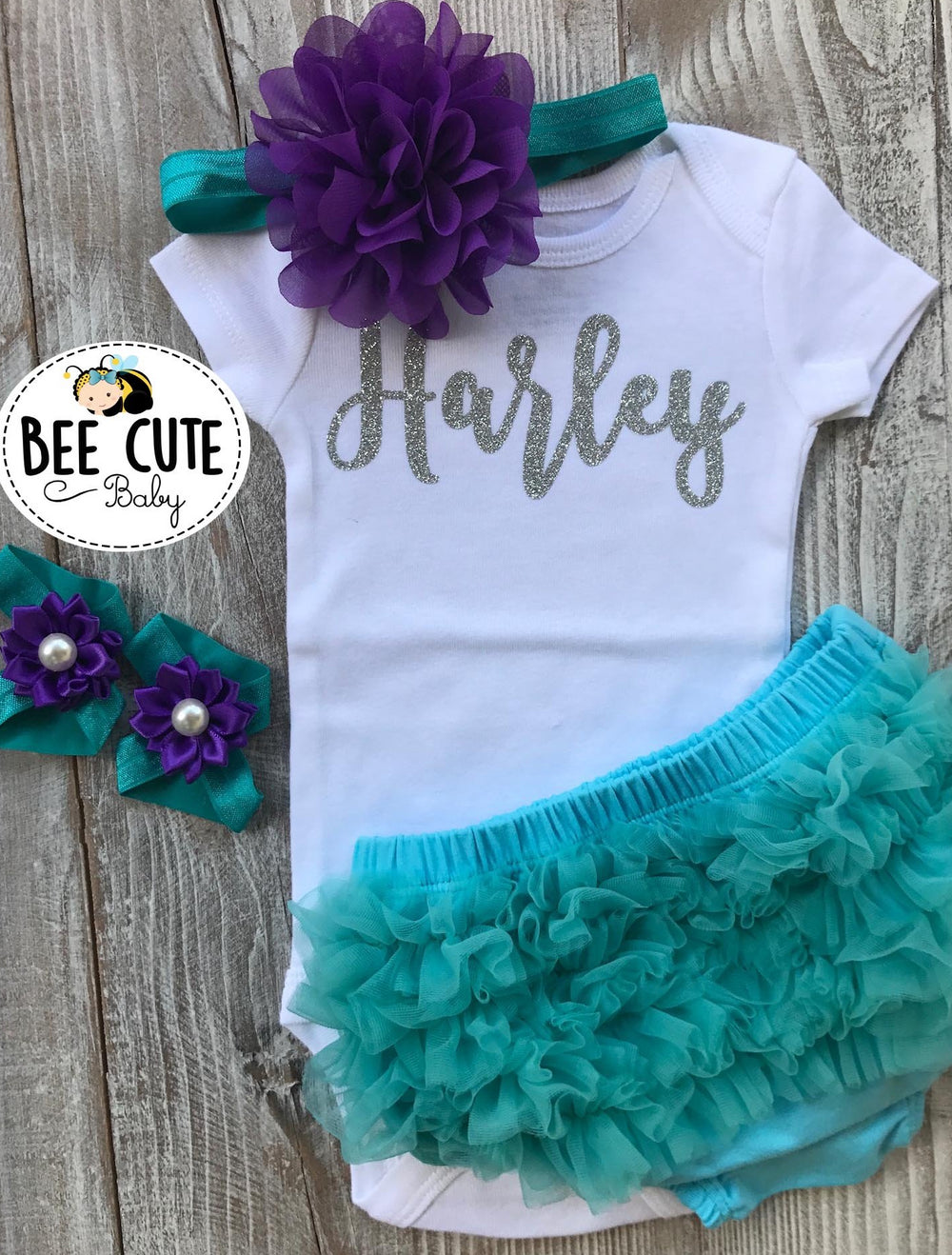 Personalized take home Baby outfit - beecutebaby
