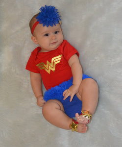 Wonder Woman Baby inspired Costume