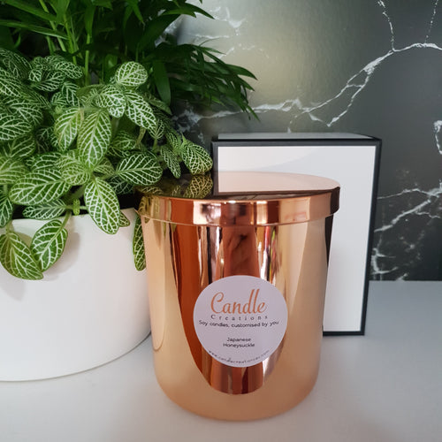 Rose Gold Luxury Jar