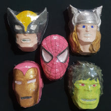 Super Hero Bath Bombs