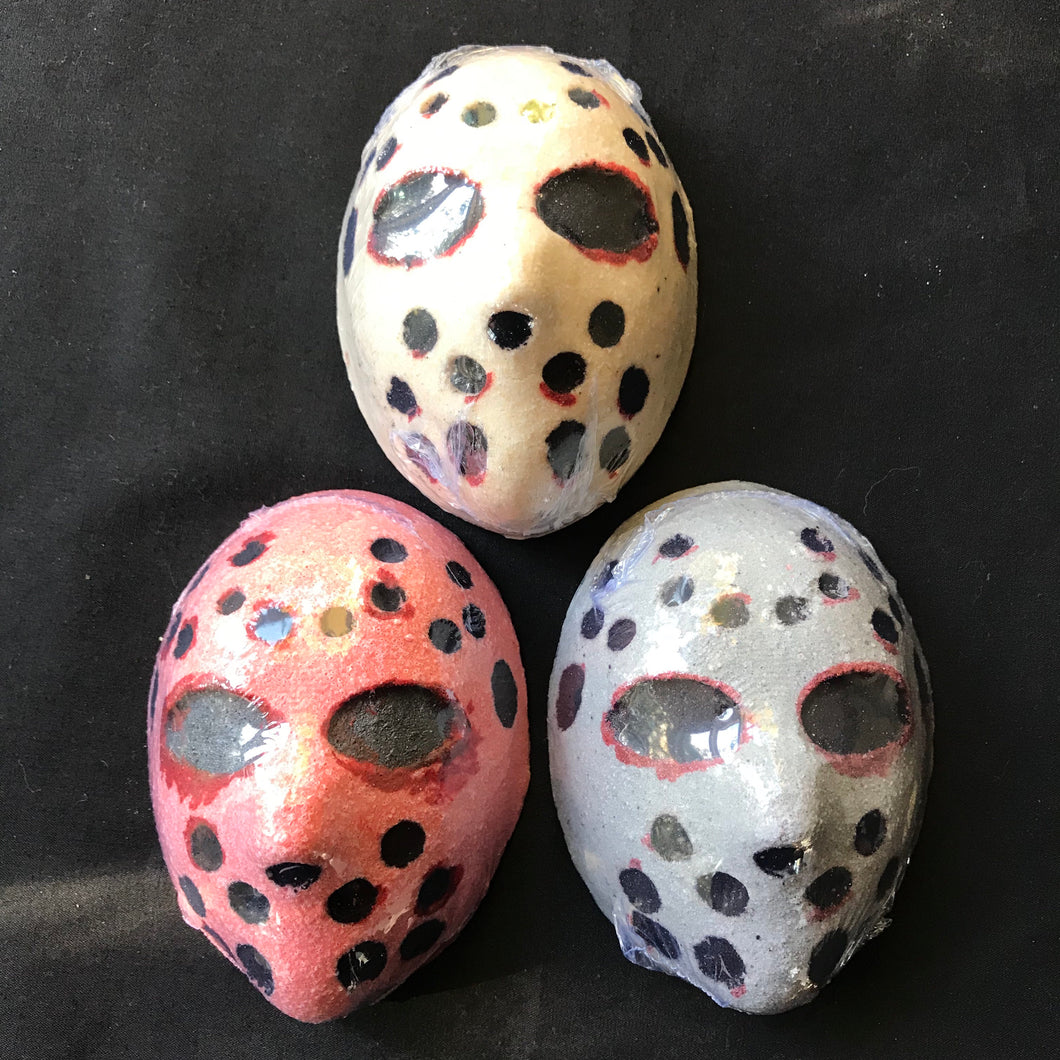 Creepy Jason Mask Bath Bomb