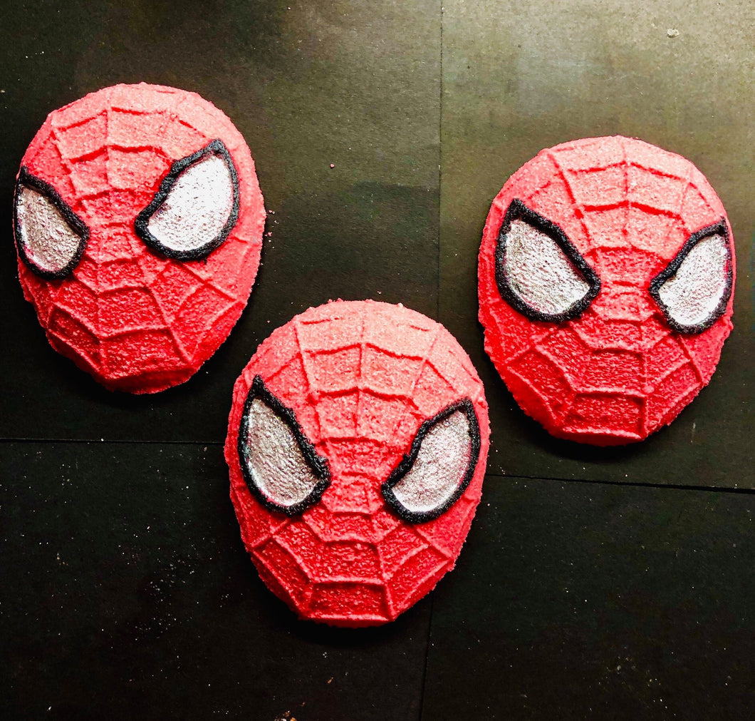 Spiderman Bath Bomb
