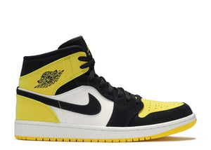 "Air Jordan 1 Mid ""Yellow Toe"""