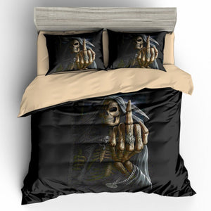 Digitus Impudicus Grim Reaper Bedding Set