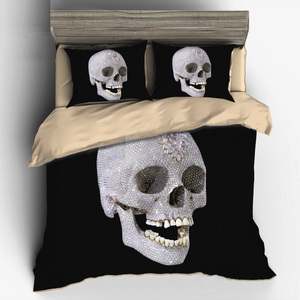 Diamond Skull Chic Bedding Sets