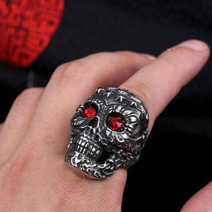 Skull Ring 316L Stainless Steel